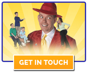 Doug Scheer assembly shows for elementary schools - Get in Touch