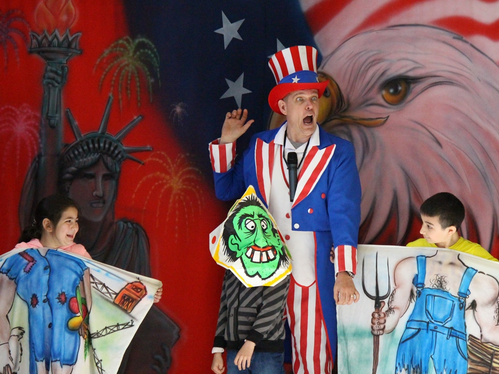 Uncle Sam American History School Show 5