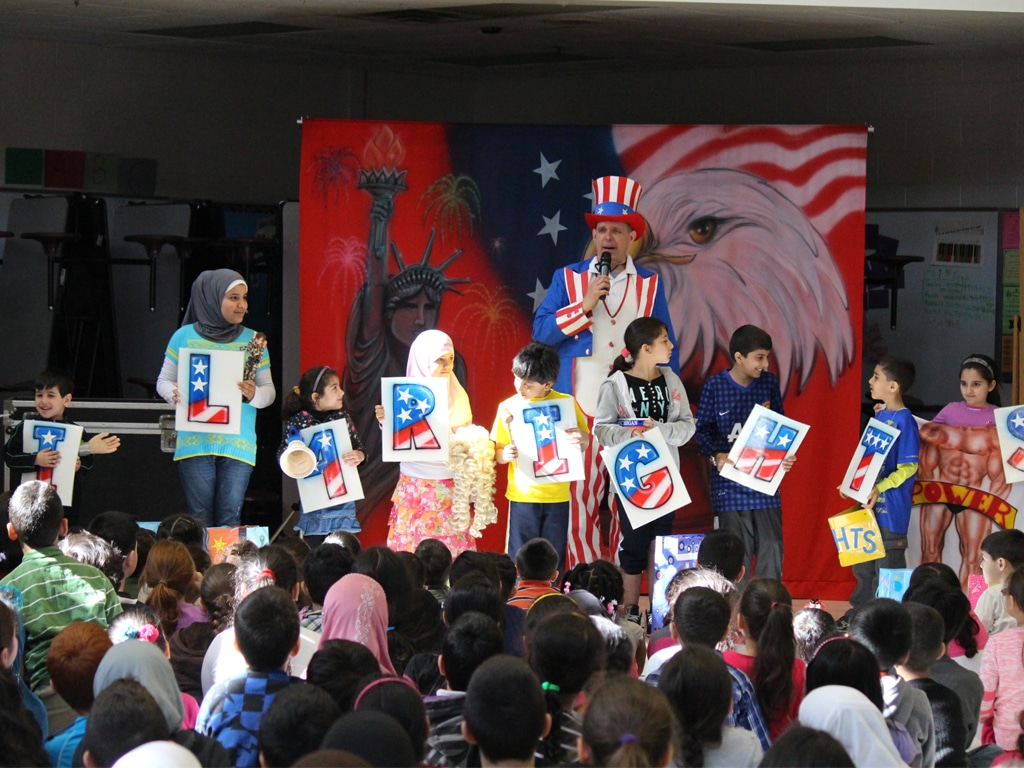 Uncle Sam American History School Show 9