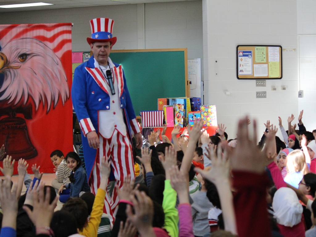 Uncle Sam American History School Show 2