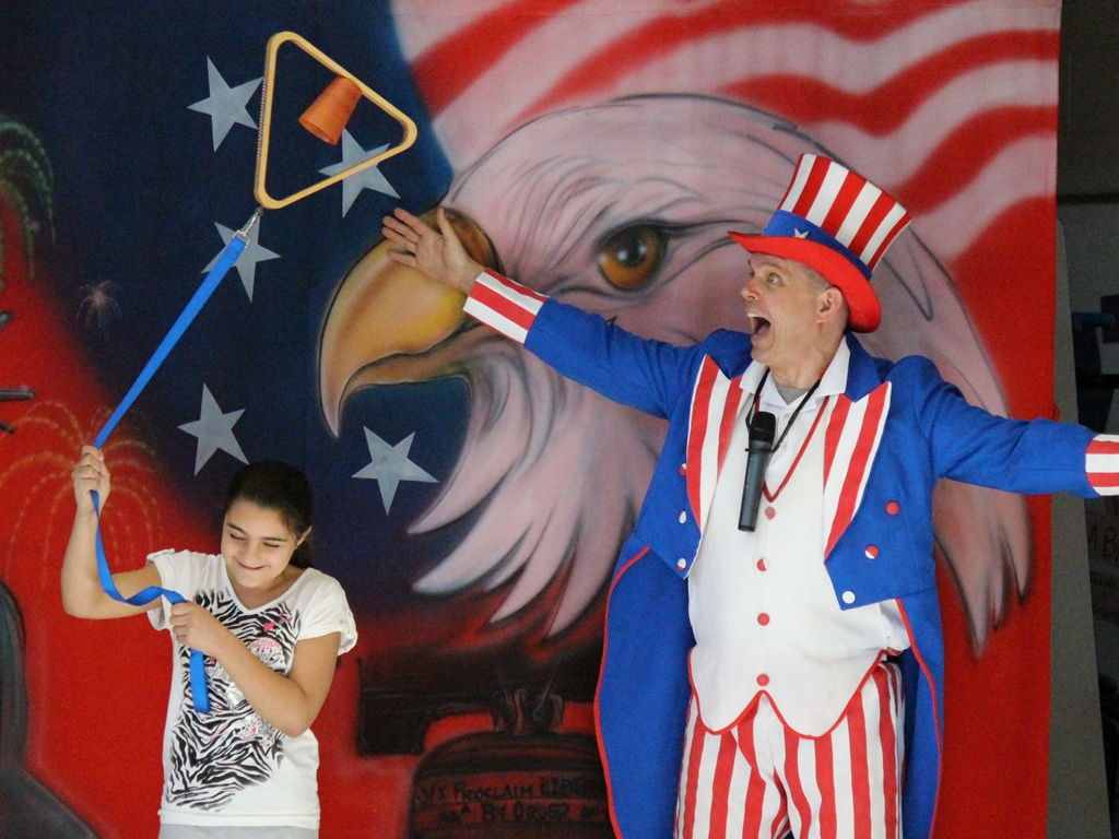 Uncle Sam American History School Show 7