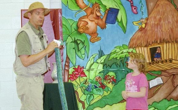 language arts school show